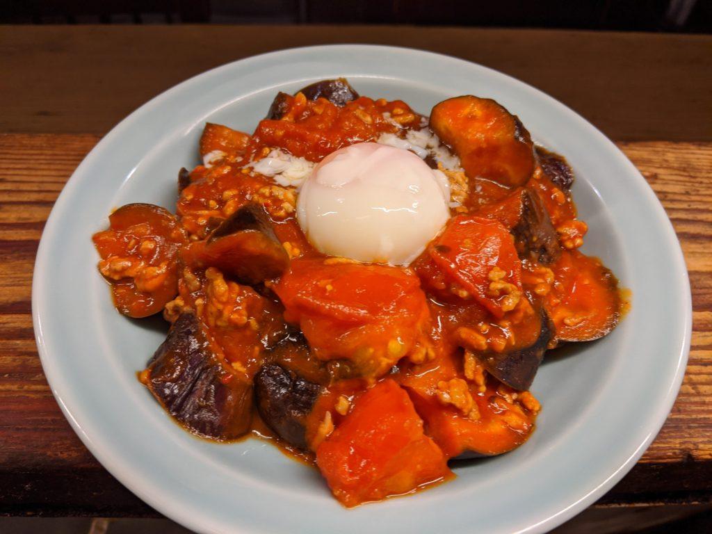 トマト茄子麻婆飯